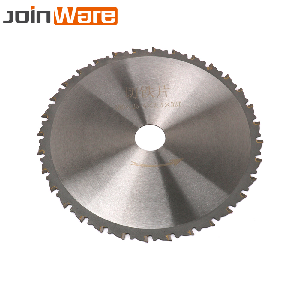 "Image 3 - 7"" Circular Saw Blade Cutting Disc For Cutting Iron Made Products 180x25.4x2.1x32T High QualitySaw Blades   -"