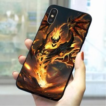 Shadow Fiend Dota 2 Soft TPU Case for iPhone XR Colorful Phone Cover 5 5s se 6 6s plus 7 8 X Xs Max