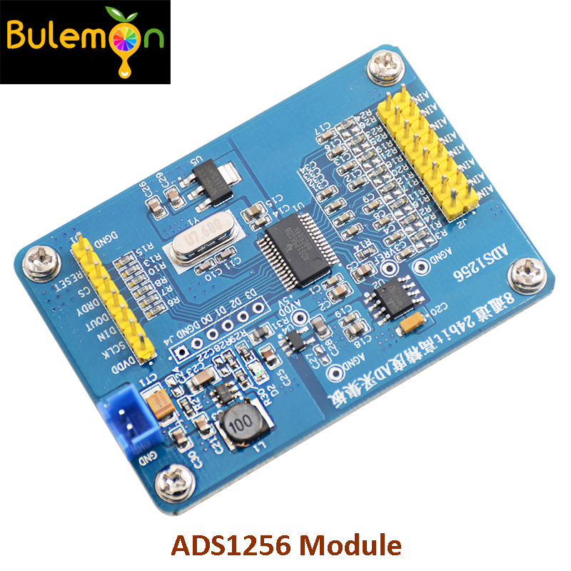 2pcs/lot ADS1256 Module 24 Bit ADC AD Module DIY High-precision ADC Data Acquisition for Communications Industrial L412pcs/lot ADS1256 Module 24 Bit ADC AD Module DIY High-precision ADC Data Acquisition for Communications Industrial L41