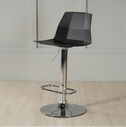Nordic bar chair backrest family modern simple bar stool rotating stool creative cashier bar chair