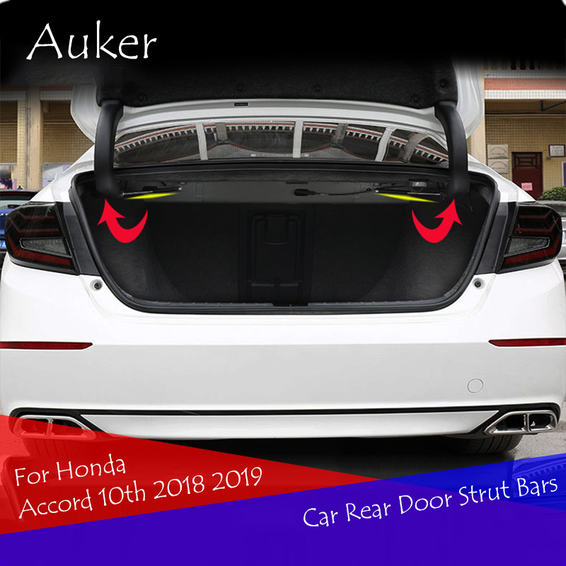Back Door Trunk Box Supporto Asta Idraulica Ammortizzatore Bar Staffa Ammortizzatore 2 pz/set Per Honda Accord 10th 2018 2019Back Door Trunk Box Supporto Asta Idraulica Ammortizzatore Bar Staffa Ammortizzatore 2 pz/set Per Honda Accord 10th 2018 2019