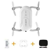 Saku Dobby ZEROTECH Selfie Drone FPV Dengan 4 K HD Kamera GPS Mini RC Quadcopter (dengan Ransel & Perlindungan Penutup & Baterai)