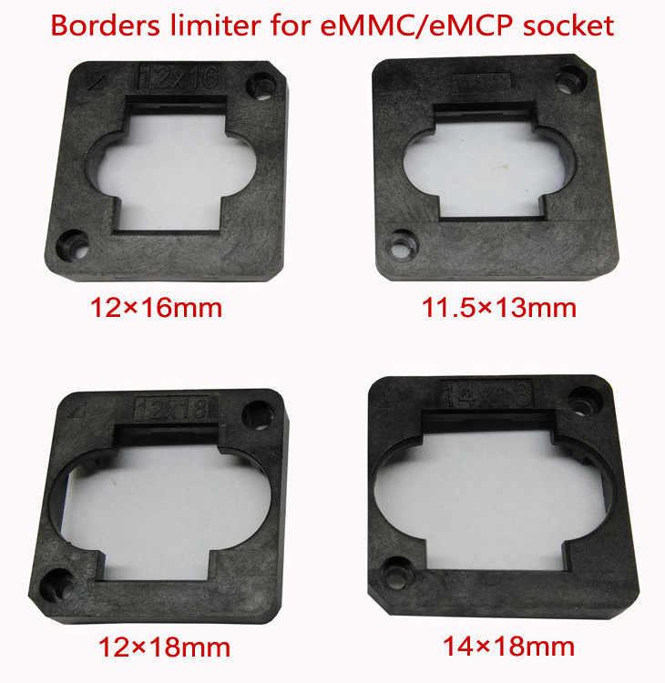 """EMMC/eMCP מבחן שקע גבול מגביל מסגרת guider 11.5*13 מ""""מ, 12*16 מ""""מ, 12*18 מ""""מ, 14*18 מ""""מ, 10*11 מ""""מ, 9*11 מ""""מ, צדפה מבנה שקע"""