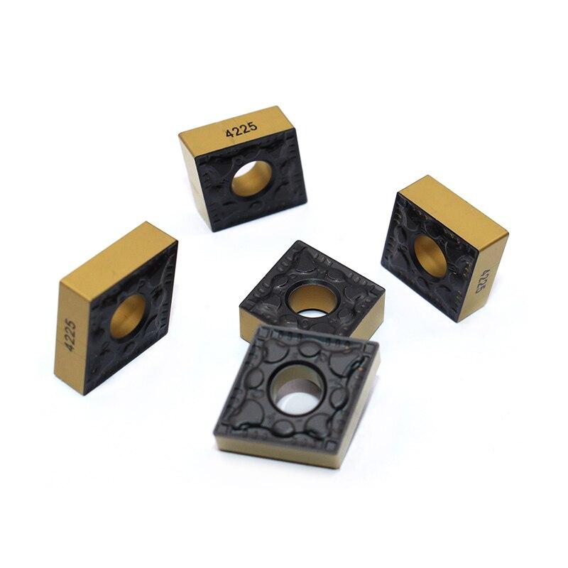 20PCS CNMG120404 PM 4225 CNMG431 External Turning Tools cnmg 120404 Cermet Grade Carbide insert Lathe cutter
