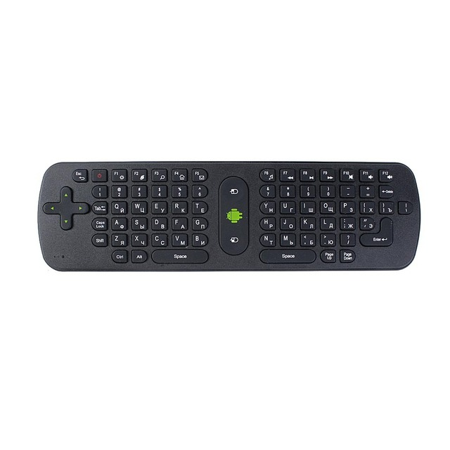 Wholesale 10pcs RC11 air fly mouse Russian Version Android Wireless Keyboard Remote Controller EMS free shipping
