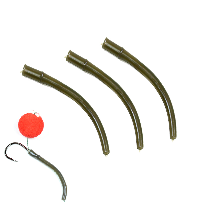 Fishing Tackle Boxes Official Website Bimoo 10pcs Camo Green Fishing Withy Pool Alingers Easy To Use 2-10 Hook Steamed To Suit Coarse Carp Fishing Rig Rubber Sleeve Fishing