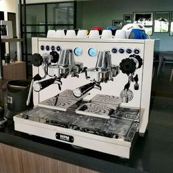 Welhome KD-510 profesjonalnego podwójna głowica półautomatyczne komercyjna kawa włoski ekspres do pompy rotacyjne kotła