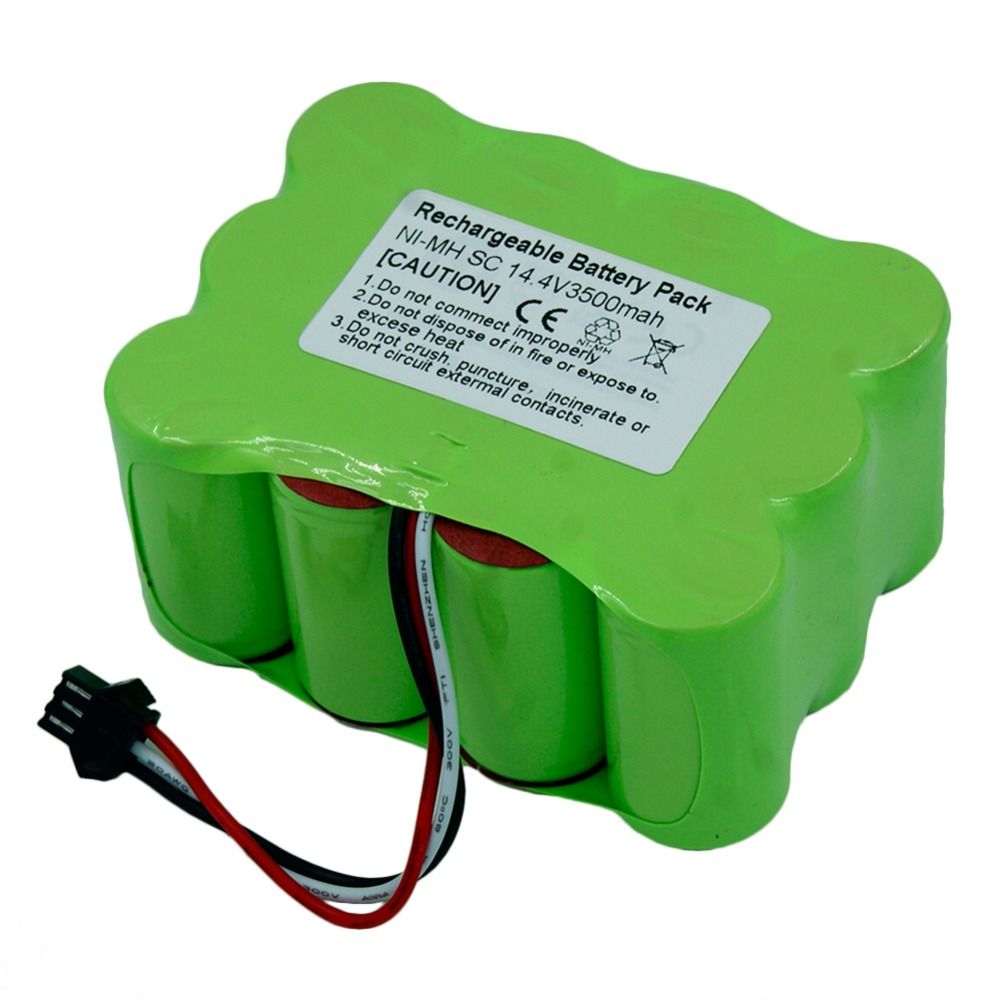 New Type 14.4V SC 3500mAh Ni-MH Vacuum Cleaner battery for KV8 Cleanna XR210 XR510 series Zebot Z520 Fmart R770 S350 цена 2017