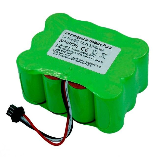 New Type 14 4v Sc 3500mah Ni Mh Vacuum Cleaner Battery For Kv8 Cleanna Xr210 Xr510 Series Zebot Z520 Fmart R770 S350