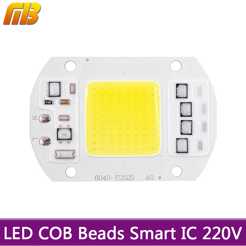 LED COB Bulb Lamp Chip 5W 20W 30W 50W 220V Input LED IP65 Smart IC for flood light Spotlight Cold White Warm White Led Chip Lamp led cob chip 5w 20w 30w 50w 220v input