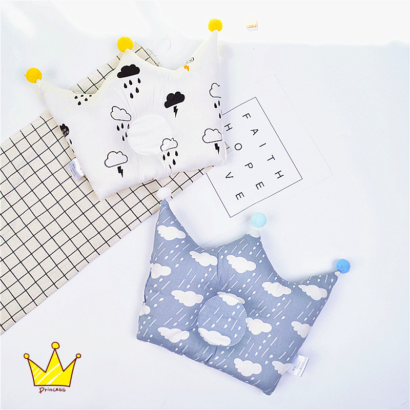 Baby Pillow Newborn Anti Roll Mother & Kids Baby Bedding Anti Flat Head Baby Pillow Decoration Room Kid Nursing Shaping Pillow