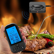 New Hot Black Wireless Digital LCD Display BBQ Thermometer Kitchen Barbecue Probe Meat Temperature Tool