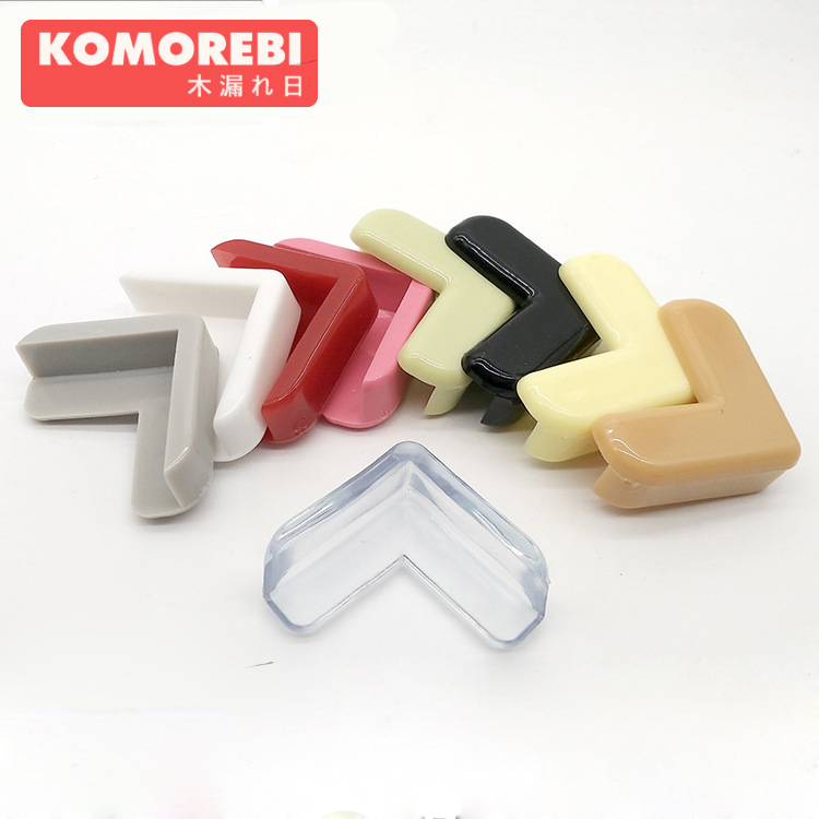 komorebi Baby safty Infant collision angle glass table crash bar kids child protection angle COLORFULL Edge Corner 10 pcs/lot ball style pvc anti collision angle guard for kids translucent white