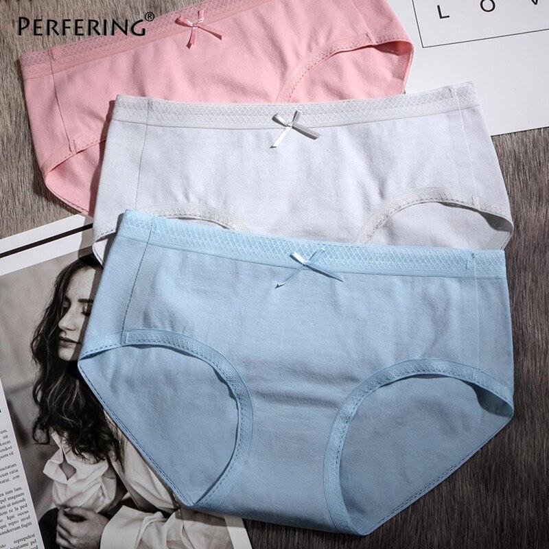 Perfering Cotton   Panties   Comfort Female Underpants Soft Breathable Briefs Women Underwear Ladies   Panty   Female Low Rise M L XL