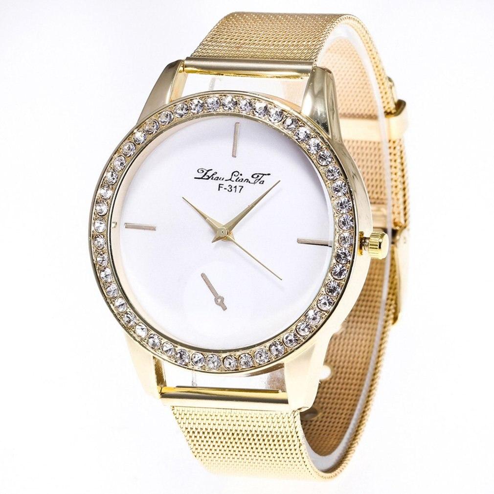2018 NEW Men And Women Quartz Dial Clock Leather Wrist Watch Steel Man Quartz Analog Wrist Watch MAR14 Drop Shipping