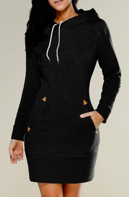 European and American cap, high collar and long sleeve guard dress
