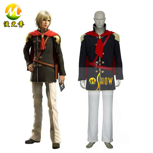anime cosplay Final Fantasy XIII 13 Agito Boy Uniform Cosplay costumes for  sale halloween party night