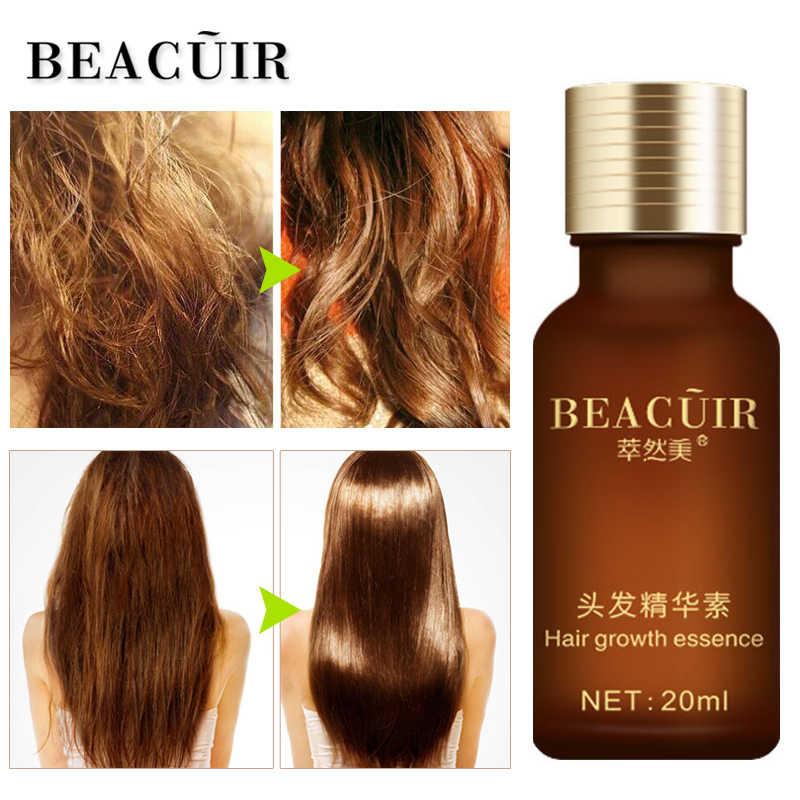 BEACUIR 高速強力な育毛エッセンス製品エッセンシャルオイル液体治療脱毛を防止ヘアケア