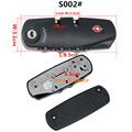 Replacement 3 Dials Resettable Combination Password Lock Customs Lock For Travel Luggage Suitcase Safety