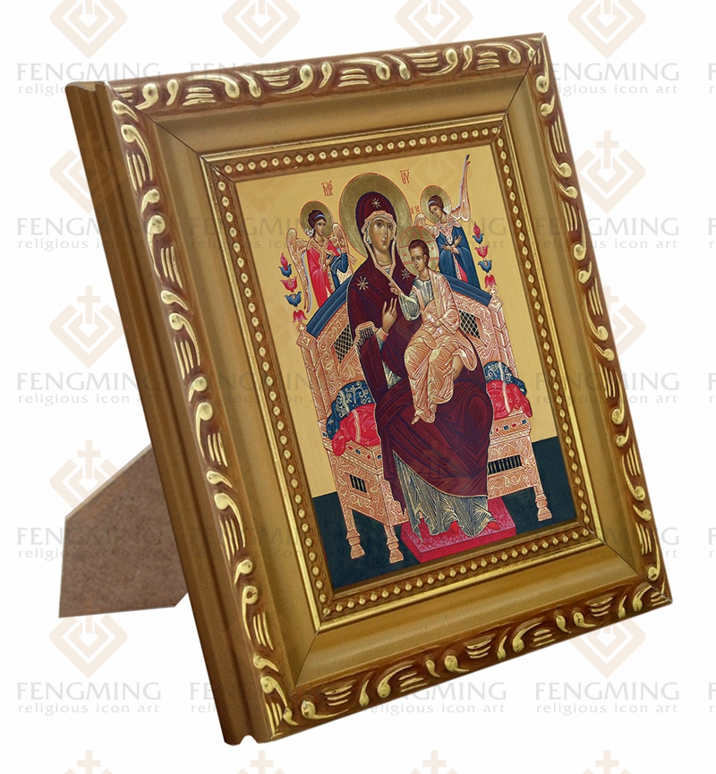 Factory outlets cheap wood photo frame lcon of Mother of God icon ...
