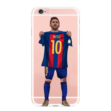 Football Star Cristiano Ronaldo Lionel Messi  Paulo Dybala  Phone Case iPhone 5 5C SE 6 6plus 7