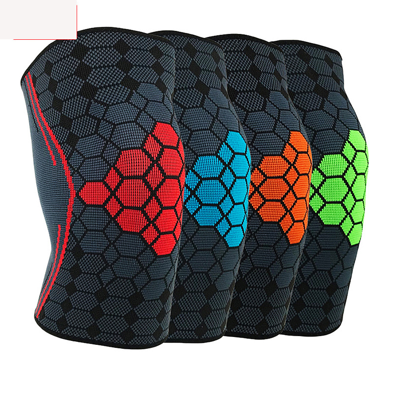 1PC Breathable Basketball Football Sport Safety Kneepad Volleyball Knee Pads Training Elastic Knee Support Knee Protector in Elbow Knee Pads from Sports Entertainment