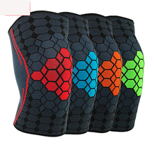 1PC Breathable Basketball Football Sport Safety Kneepad Volleyball Knee Pads Training Elastic Knee Support Knee Protector basketball knee pads adult football knee brace support leg sleeve knee protector calf support ski kneepad joelheira sport safety
