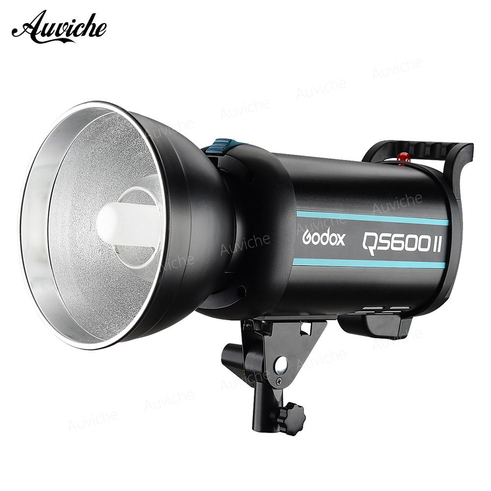 Godox QS600 II QS600II 600Ws GN76 Professionnel Studio Strobe avec Haut-Godox 2.4G Sans Fil X Système Offre De Prise de Vues Créatifs