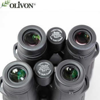 Olivon White hawk 10x56 high power night vision watch moon bird washed with argon waterproof fog(not 8X56)