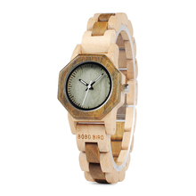 BOBO BIRD M25 Women Wooden Watch Luxury Quartz Movement Lightweight Ladies Wristwatch Relojes de mujer With Gift Box