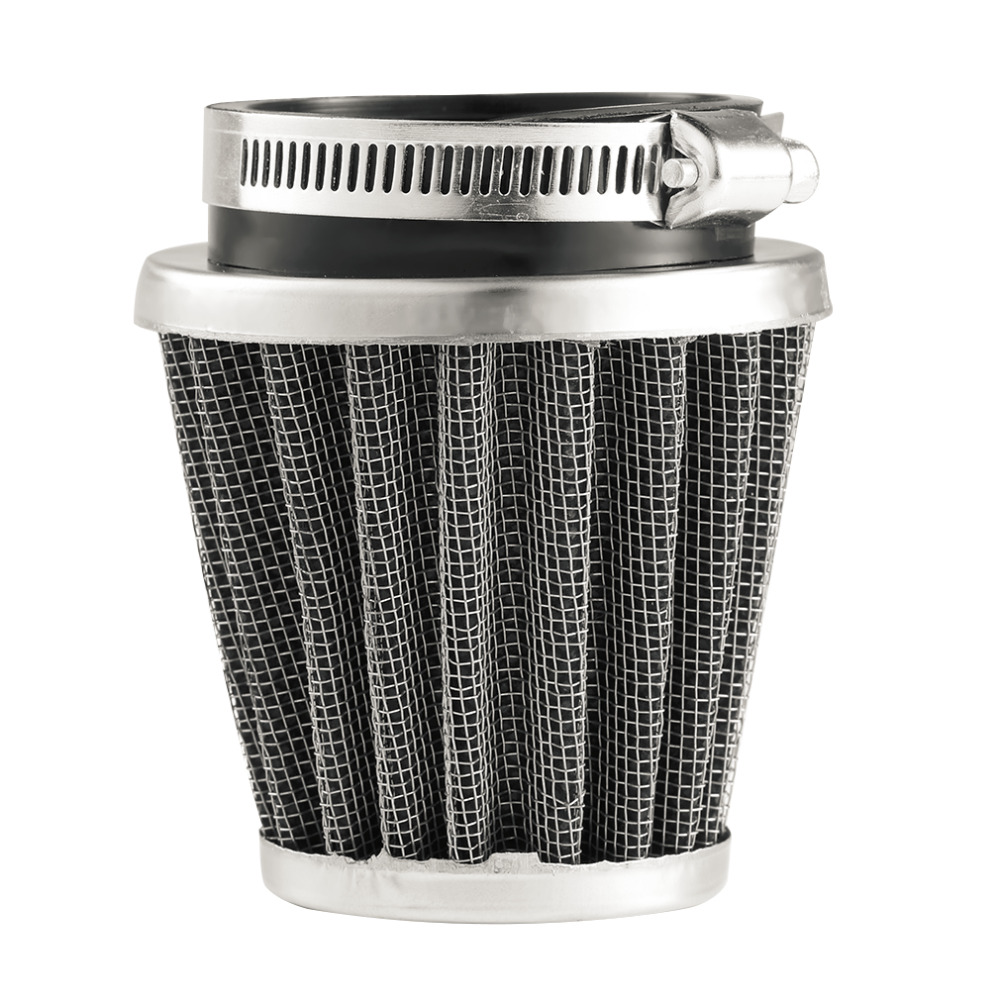 2017 New Universal 35/39/42/44/48/50/52/54/60mm Motorcycle Mushroom Head Air Filter Clamp On Air Filter Cleaner Hot Selling universal motorcycle air intake filter cleaner 35 44 50mm 2 layer steel net filter gauze motorcycle clamp on air filter cleaner
