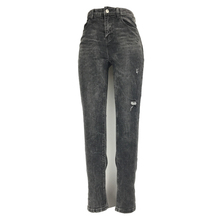 ME&SKI 2019 Fashion Women Jeans Skinny Straight High Elastic Pencil Pants Female  Stretchy Trousers Dark Grey