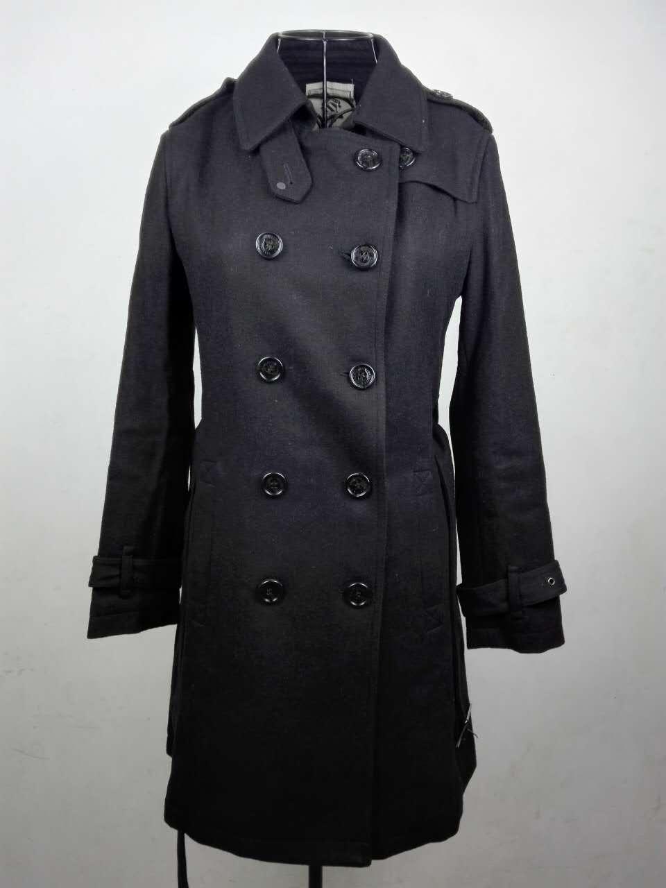 a2e7d0c00b79 Casaco de inverno mulheres sobretudo NicesensE poncho abrigos mujer  invierno 2017 preto casaco de lã casaco feminino casaco manteau femme em Lã  & Blends de ...