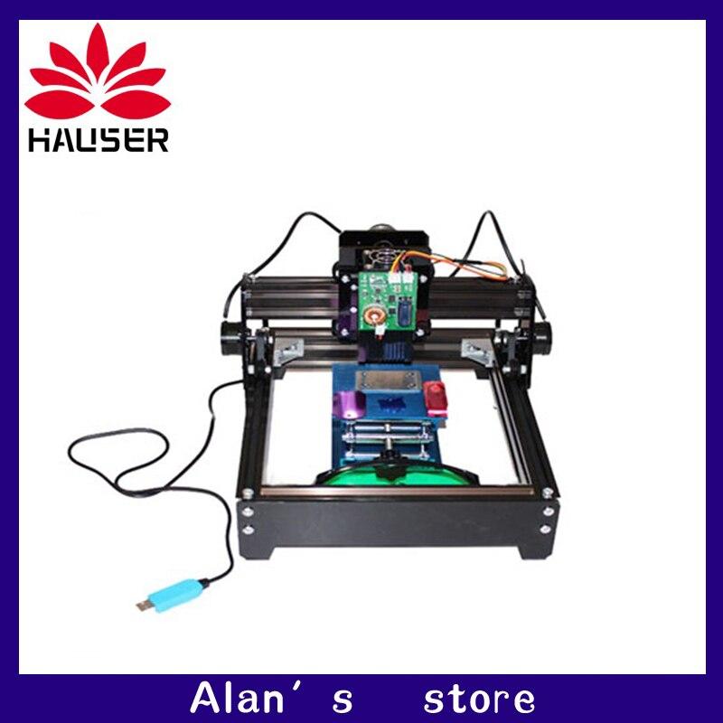 BRICOLAGE mini laser cnc 15 w haute puissance laser machine de gravure en métal machine 15 w module laser machine de marquage laser