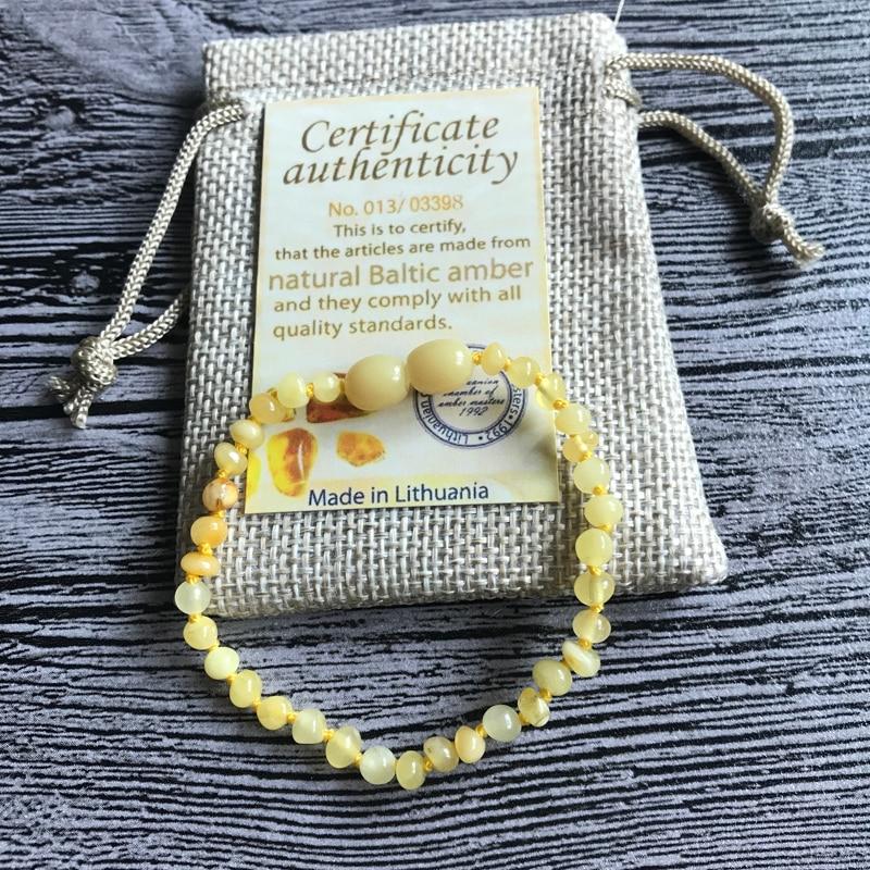 HTB1dsYgnZnI8KJjSsziq6z8QpXaA Yoowei Natural Amber Bracelet/Anklet for Gift Women Amber Bracelet Baltic 4mm Small Beads Baby Teething Custom Jewelry Wholesale