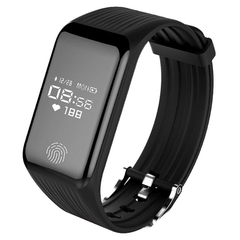 B3 Smart Bande de Fréquence Cardiaque Tracker Fitness Tracker Smartband Bracelet À Puce Étanche Smart Bracelet Montre Smart Watch Hommes pk mi bande