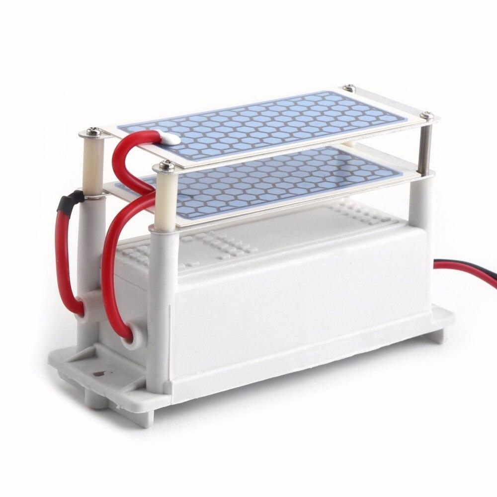 H Auto Ozon Generator Luftreiniger Auto Ozon Maschine Ozon keramischen Platten DC 12V 10g