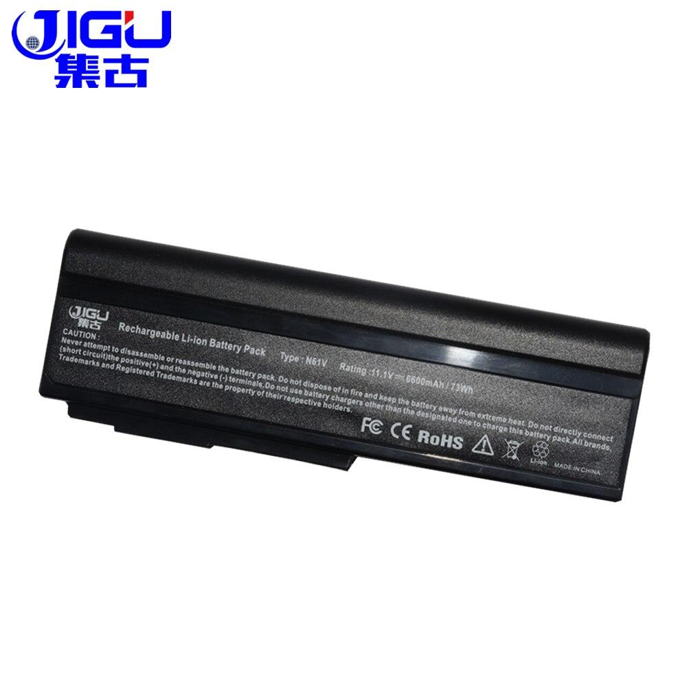 Computer & Office 100% True Jigu 9 Cells Laptop Battery For Asus G51j G51jx G51v G51vx M50 M50q M50s M50sa M50sr M50sv M50v M50vc M50vm M50vn M60 M60j Fancy Colours