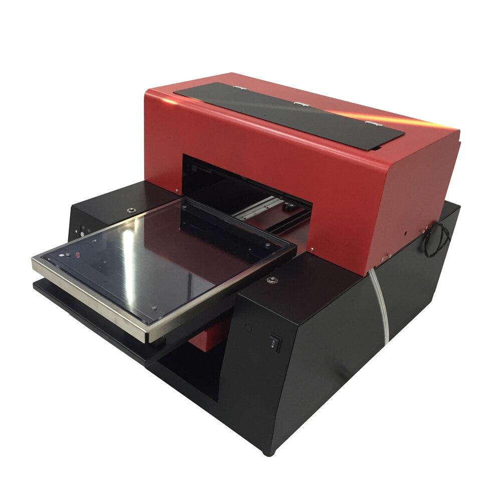 A3 size 6 color Flatbed Printer & Transparent Phone Case Card etc Advanced Micro Piezo 6 color inkjet technology advanced engine technology
