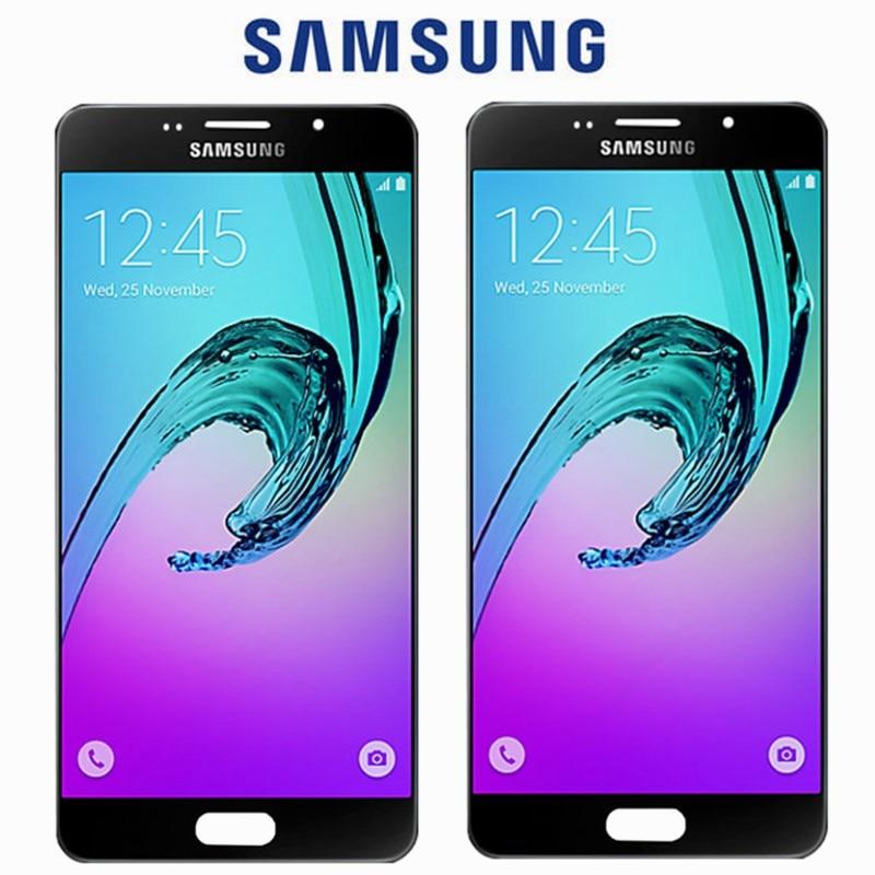 D'ORIGINE 5.5 ''Remplacement D'affichage pour SAMSUNG Galaxy A7 2016 LCD A7100 A710F A710 Écran Tactile Digitizer Assemblée