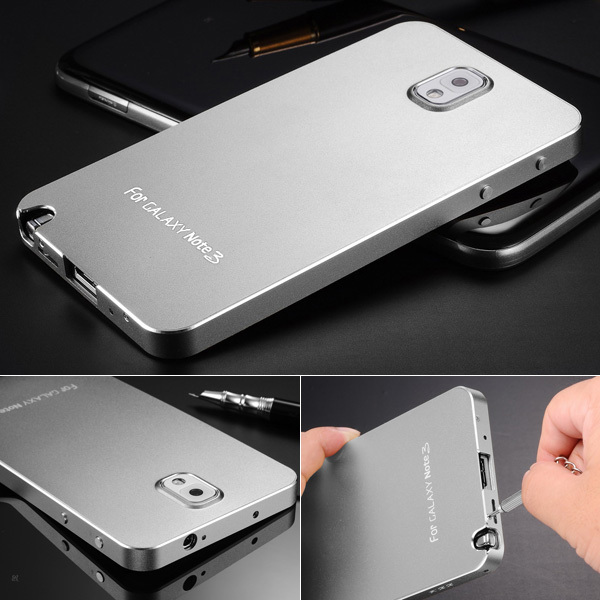 new concept e18a9 0ff94 US $19.98 |New Arrival Matting Metal Surface Aluminum Bumper Case For  Samsung Galaxy Note 3 III Luxury Ultrathin 9 colors Drop Shipping OYO on ...