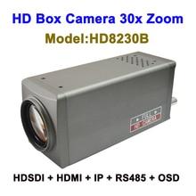 Top 10 2MP Camera quan sát 30x Zoom Camera IP thông minh Dạng hộp với HDMI 3G SDI Video Đầu Ra