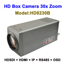 Top 10 2mp cctv 30x Zoom intelligent ip camera box Type with HDMI 3G SDI Video Output
