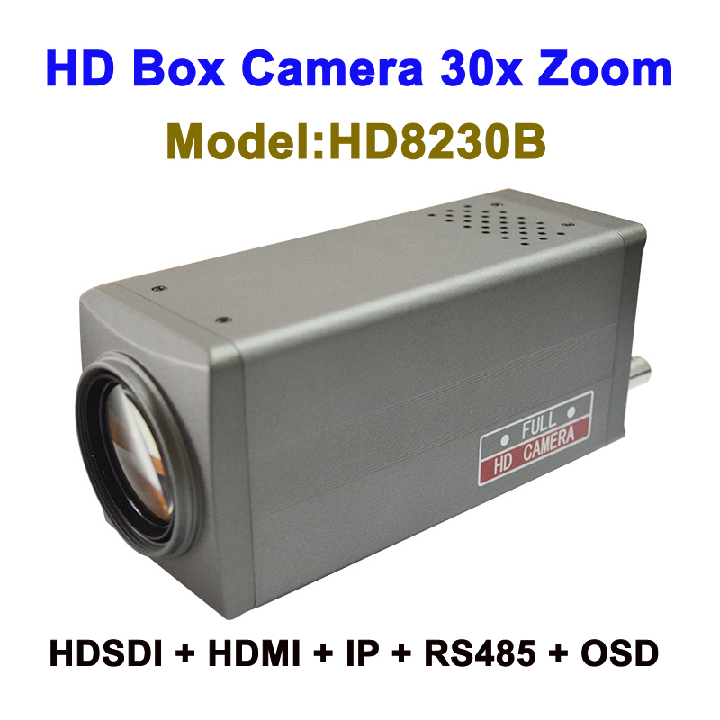 Top 10 2mp cctv 30x Zoom intelligent ip camera box Type with HDMI 3G-SDI Video Output image