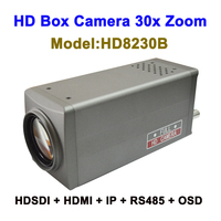 Top 10 2mp cctv 30x Zoom intelligent ip camera box Type with HDMI 3G SDI Video Output