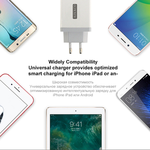 Image 5 - AIXXCO 3 Ports Quick Charger QC 3.0 30W USB Charger For iphone 7 8 ipad Samsung S8 Huawei Xiaomi Fast Charger QC3.0 EU/US Plug