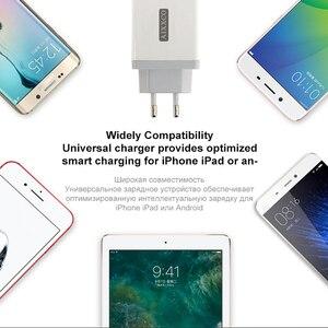 "Image 5 - AIXXCO 3 יציאות מהיר מטען QC 3.0 30W USB מטען עבור iphone 7 8 ipad סמסונג S8 Huawei Xiaomi מהיר מטען QC3.0 האיחוד האירופי/ארה""ב Plug"