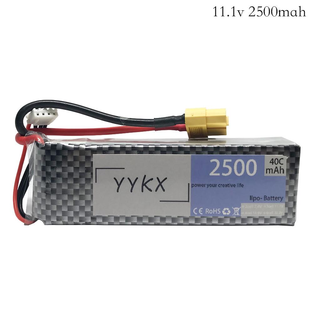 Аккумулятор lipo высокой мощности 11,1 В 2500 мАч 40c 3s для радиоуправляемых моделей X16 X21 X22