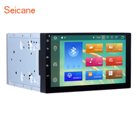 Seicane Android 8.0 7 inch 8 core 2 Din Universal Bluetooth GPS Navigation System 1024*600 1080P Car Stereo for NISSAN TOYOTA VW