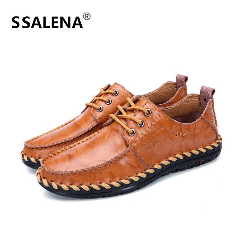 Hommes Aa60836 red Noir Sost Chaussures Mariage Semelle Casual Plat Up De En Printemps Lace Homme Brown D'affaires Confortables Automne Cuir jaune eDHYWE29I